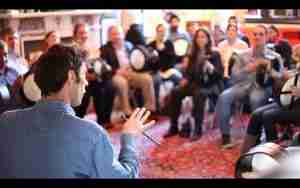Bodhran Workshop in Dublin Ireland