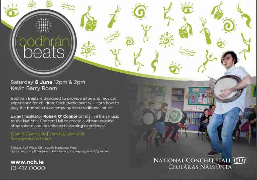 Bodhrán Beats visits the National Concert Hall