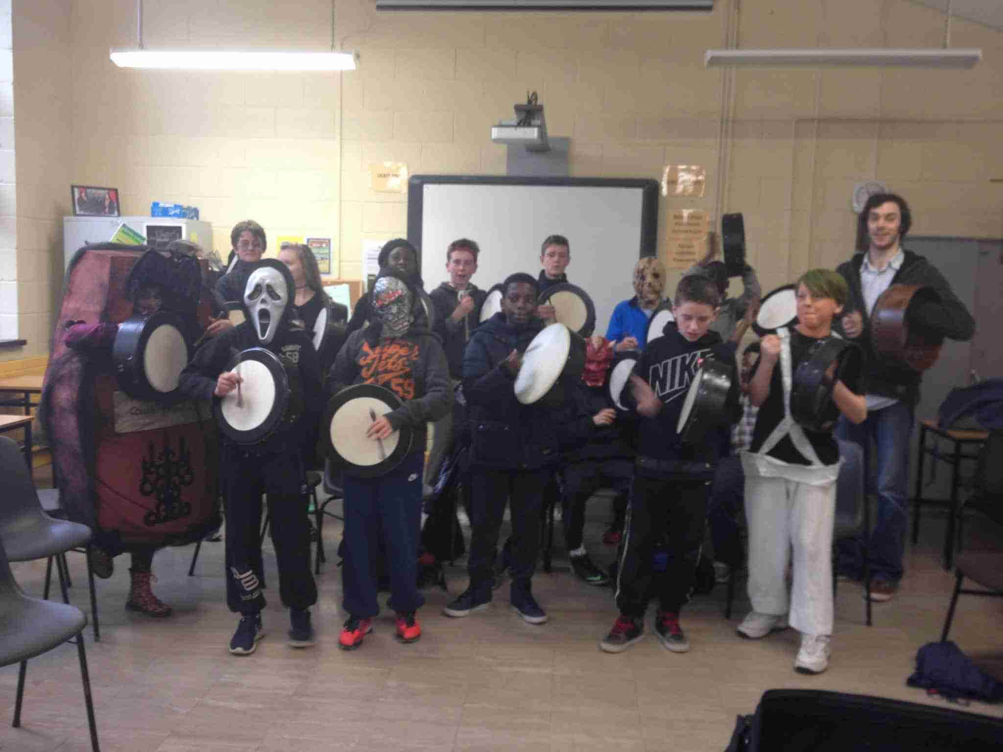 Holloween Bodhran Workshop